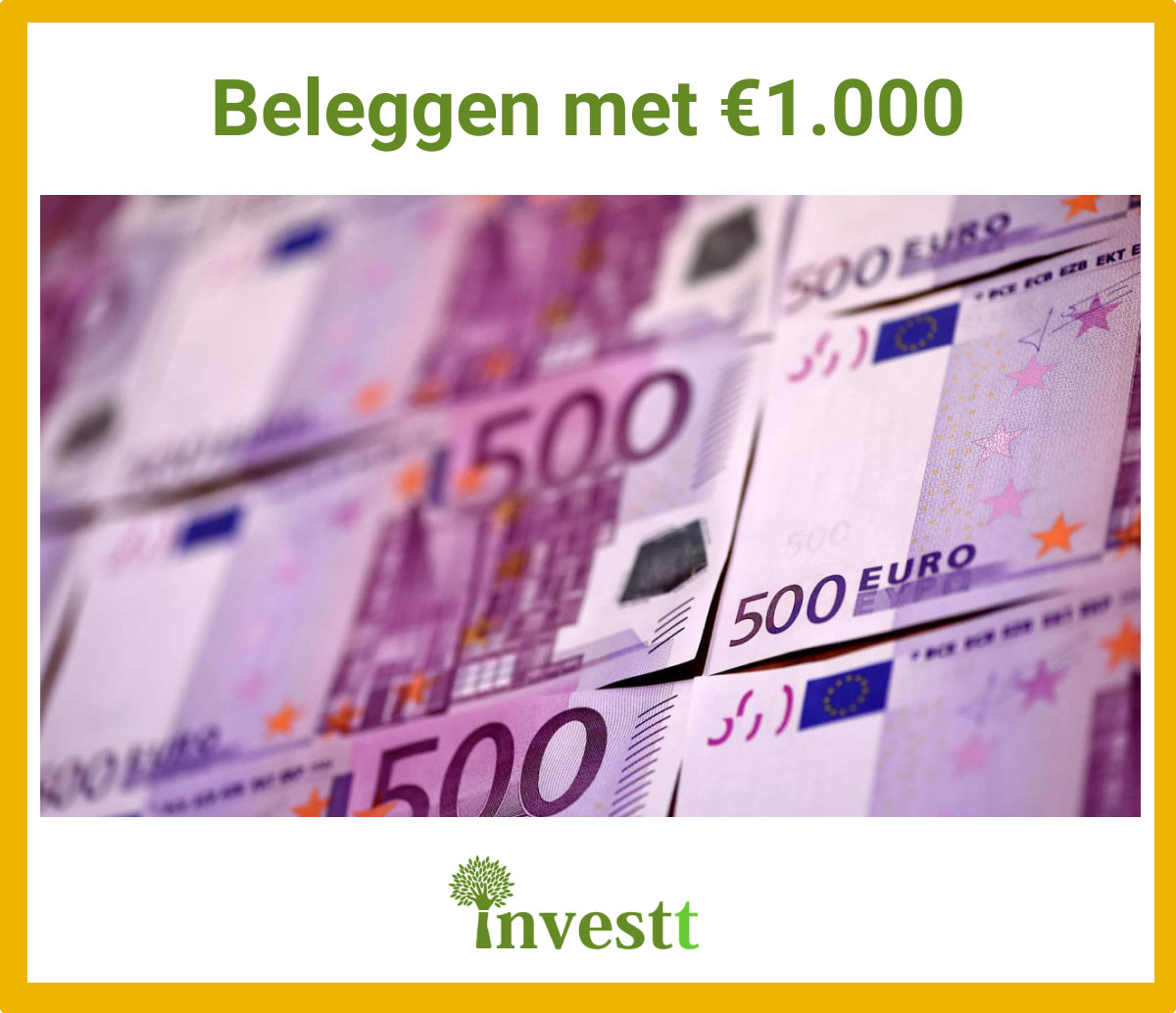 beleggen 1000 euro